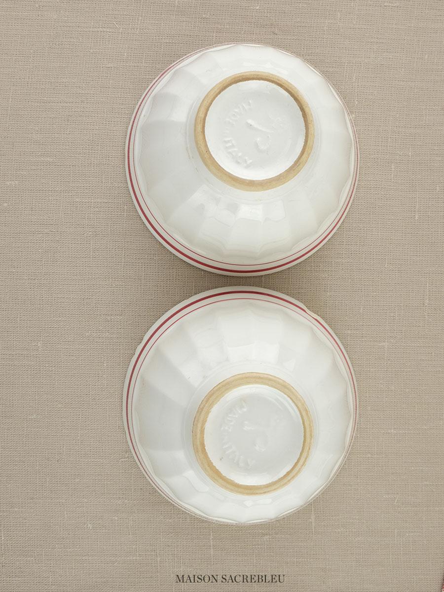 Vintage Cafe Au Lait Bowls 121